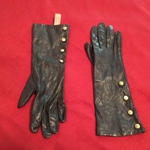 Anne Klein Leather Gloves